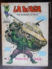 LA MASA THE INCREDIBLE HULK - Nº 1 - VERTICE - LEER DESCRIPCION (K2) -