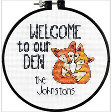 Cross Stitch Kit - Dimensions - Learn a Craft - Our Den 72-74881