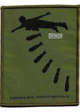 Official Licensed Merch Woven Sew-on PATCH Punk Rock GREEN DAY Bombs