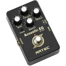 SE-OE3 - ARTEC Onboard Equalizer for Acoustic instrument (guitar)