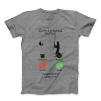 Sorry I Missed Your Call I Was On My Other Line Fishing Rod Fisherman's T-shirt