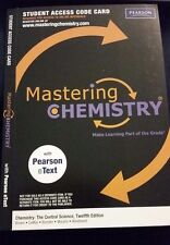 """Mastering Chemistry Access Code to """"Brown Lemay"""" 12e or 13e 12th or 13th Central"""