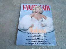 APRIL 1991 VANITY FAIR fashion magazine MADONNA
