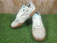 Hi-tec court x4 Men's Leather/Suede Trainers Shoes Size 7.5 UK 41.5 EUR