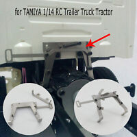 Cab Lock Catch Assembly Silber für TAMIYA 1/14 Scania Benz MAN  RC Trailer