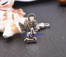 30pcs Tibetan silver angel charm necklace  pendant 18X12mm A3418
