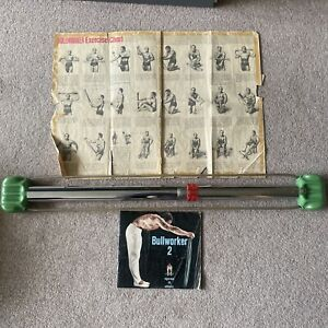 Vintage Retro Bullworker 2 Strength Training Equipment Home Gym Fitness