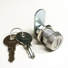 """7/8"""" Weather Resistant Cam Lock with Dust Shutter and 2 Keys"""