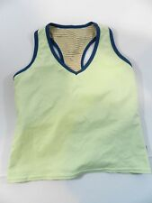Insport Womens Tank Top Small Lime Green Workout Fitness Shirt Racer Back