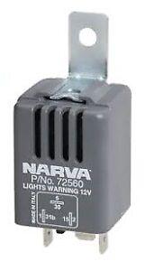 Narva Headlight Warning Alarm 12V 72560BL
