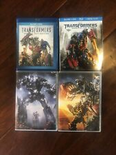 Transformers Movie Lot Dvd Age Extinction Dark Side Moon Revenge of the Fallen