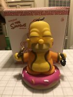 Kid Robot Simpsons Buddha Homer Simpson Pink Sprinkled Donut VERY RARE Limited 7
