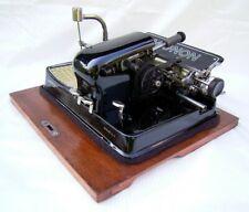 Unica nel suo genere MACCHINA da scrivere Typewriter MIGNON 4 anno 1929