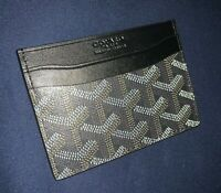 Goyard Card holder Black
