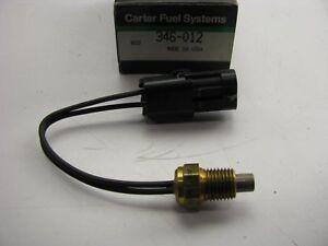 Carter 346-012 Engine Coolant Temperature Sensor Replaces AMC # 89330001574