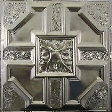#113-Tin Ceiling Tiles - Unfinished - Nailup, 5 pcs per box