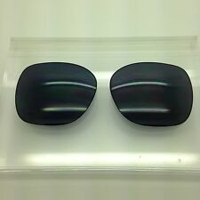 d164293cddf Oakley Beckon Custom Made Sunglass Replacement Lenses Dark Grey polarized  NEW!