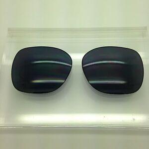Oakley Beckon Custom Made Sunglass Replacement Lenses Dark Grey polarized NEW!!