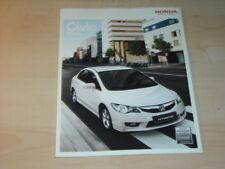 18539) Honda Civic Hybrid Prospekt 2008