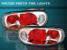 1990-1997 MAZDA MIATA MX5 MX-5 TAIL LIGHTS CLEAR 1996 1995