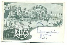 TORINO 1902 - ESPOSIZIONE INT.LE D'ARTE MODERNA Ill. GAIDO-BRUGO 2