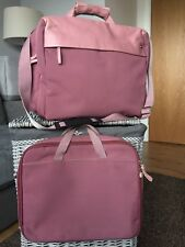 RADLEY WEEKEND OVERNIGHT WORK BAG  FABRIC & LEATHER & LAPTOP SHOULDER BAG