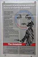 1981 The Amateur Original 1SH Movie Poster 27 x 41 John Savage Plummer Keller
