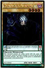 Yugioh! Vector Pendulum, the Dracoverlord PGL3-EN041 1st Ed NM Gold Rare Konami