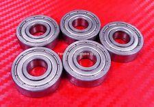 [QTY 25] S608ZZ (8x22x7 mm) 440c Stainless Steel Ball Bearing Bearings 608ZZ