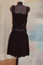 NWT Opening Ceremony Black Silk Dress from Bergdorf Goodman Dress Size XS $ 700