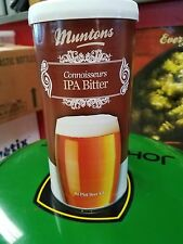 MUNTON'S Connoisseurs IPA Bitter BEER LIQUID MALT EXTRACT Hone Brew w/Yeast