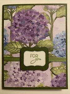 Stampin Up Hydrangea Hill Card Kit