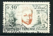 STAMP / TIMBRE FRANCE OBLITERE N° 1344 BLAISE PASCALE