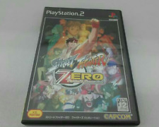 Street Fighter Zero Fighters Generation SONY PLAYSTATION PS2