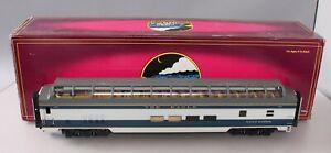 MTH 20-67108 Missouri Pacific 70' Full Length Vista Dome Passenger Smooth EX/Box