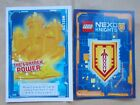 NEW LEGO NEXO KNIGHTS TRADING CARDS, BUY 1 GET 1 FREE INCL FOILS. PICK 1S U WANT