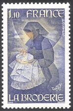 Francia 1980 Manualidades/Bordado/Arte/Cuadros/artistas/Crafts 1v (n43026)