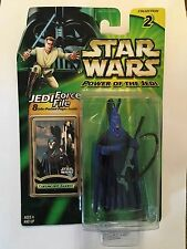"STAR WARS CORUSCANT GUARD FIGURE - 4"" SCALE - POWER OF THE JEDI - BLUE SENATE"