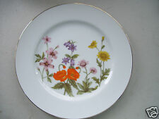 "Rare Fine China Of Japan Wild Flower 10 1/4"" Dinner Plate New Mint Condition"