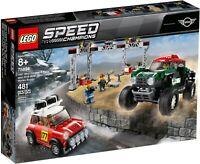 LEGO Speed Champions 75894 1967 Mini Cooper S Rally 2018 Mini John Cooper Works