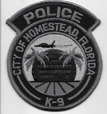 Homestead k9 k-9 subdued Police State of Florida FL