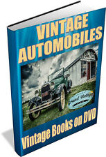 VINTAGE AUTOMOBILES 180 Vintage Books on DVD - Classic Cars, Motor Cars, Motors