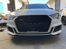 Audi A3 S3 8V facelift 2016 up RS3 Style Honeycomb grill with ACC - sline