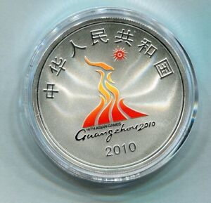 China 2010 1oz Silver Silver Coin - the 16th Asian Games (Series II)