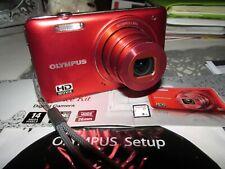 OLYMPUS VG-160 14 M.P - Écran 7.6 cm  Appareil Photo Numérique Rouge