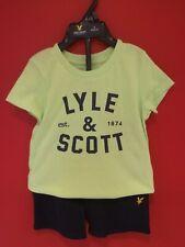 Lyle and Scott Infant Boys T-Shirt and shorts Set. Size 18m