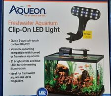 NEW Aqueon Clip-On LED Light for aquariums up to 20 gallons