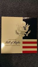 1993 US Mint Bill of Rights Coin & Stamp Set, Proof Silver Half Dollar & Stamp