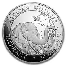 2018 Somalia 10 oz Silver Elephant BU - SKU#154020