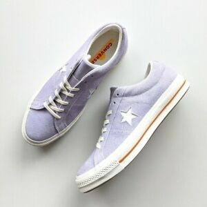 Converse One Star OX Washed Lilac/Egret 164218C Men's 11.5/Women's 13.5